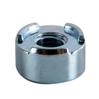 Circular welded nut